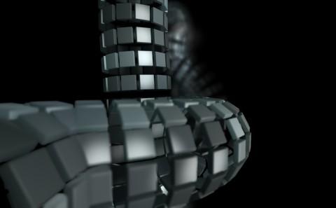 3D animated website teaser