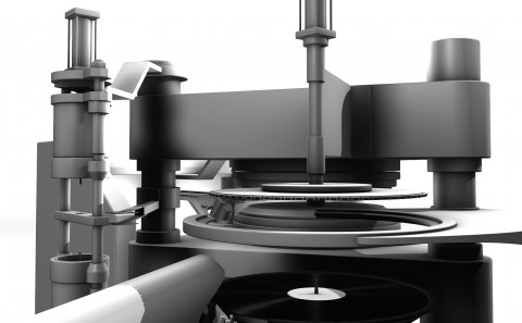 Production process of vinyl records
